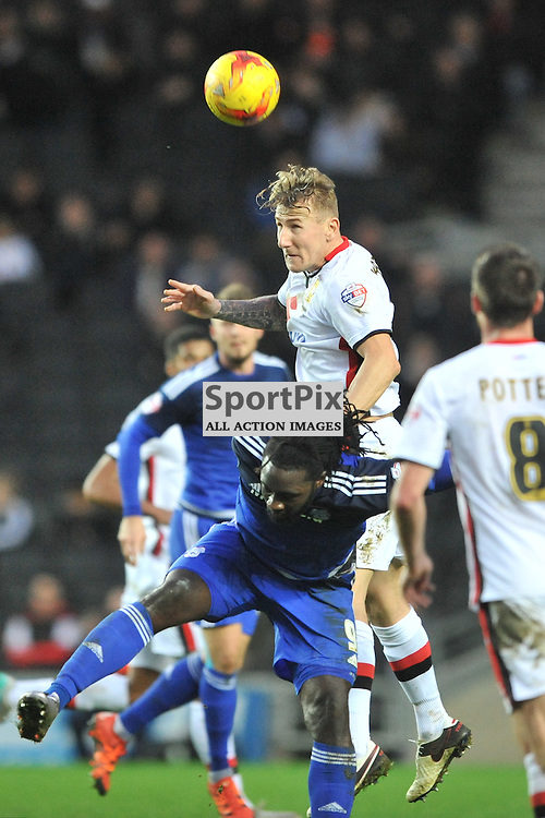 MK Dons v Cardiff, Sky Bet Championship, Saturday 26th December 2016