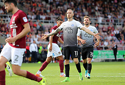 Marcus Maddison of Peterborough United celebrates hos goal - Mandatory by-line: Joe Dent/JMP - 26/08/2017 - FOOTBALL - Sixfields Stadium - Northampton, England - Northampton Town v Peterborough United - Sky Bet League One