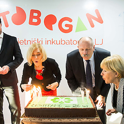 20151127: SLO, Events - Opening of Tobogan in Tehnoloski park Ljubljana