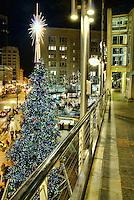 City Christmas Tree, Westlake Center, Downtown Seattle