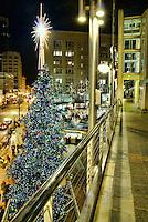City Christmas Tree, Westlake Center, Downtown Seattle