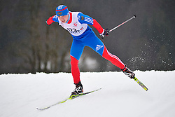 MINNEGULOV Rushan, RUS at the 2014 IPC Nordic Skiing World Cup Finals - Long Distance