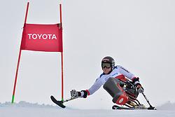 LOESCH Claudia LW11 AUT at 2018 World Para Alpine Skiing World Cup, Veysonnaz, Switzerland