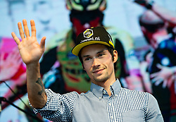 Primoz Roglic during reception of best Slovenian riders after Giro d'Italia 2019 and Tour of California 2019, on June 3rd, 2019, in Mestni trg, Ljubljana, Slovenia. Photo by Vid Ponikvar / Sportida