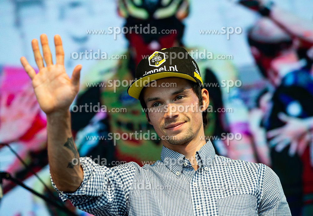 Primoz Roglic during reception of best Slovenian riders after Giro d'Italia 2019 and Tour of California 2019, on June 3rd, 2019, in Mestni trg, Ljubljana, Slovenia. Photo by Vid Ponikvar / Sportida