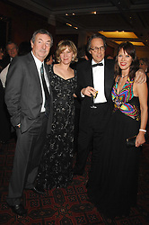 Left to right, NICK MASON, The COUNTESS OF MARCH, NETTE MASON and The EARL OF MARCH at the Feast of Albion a sumptious locally-sourced banquet in aid of The Soil Association held at The Guildhall, City of London on 12th March 2008.<br />