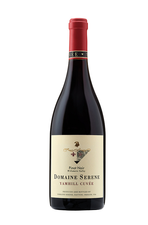 Bottle Shot of Domaine Serene's Yamhill Cuvee Pinot Noir