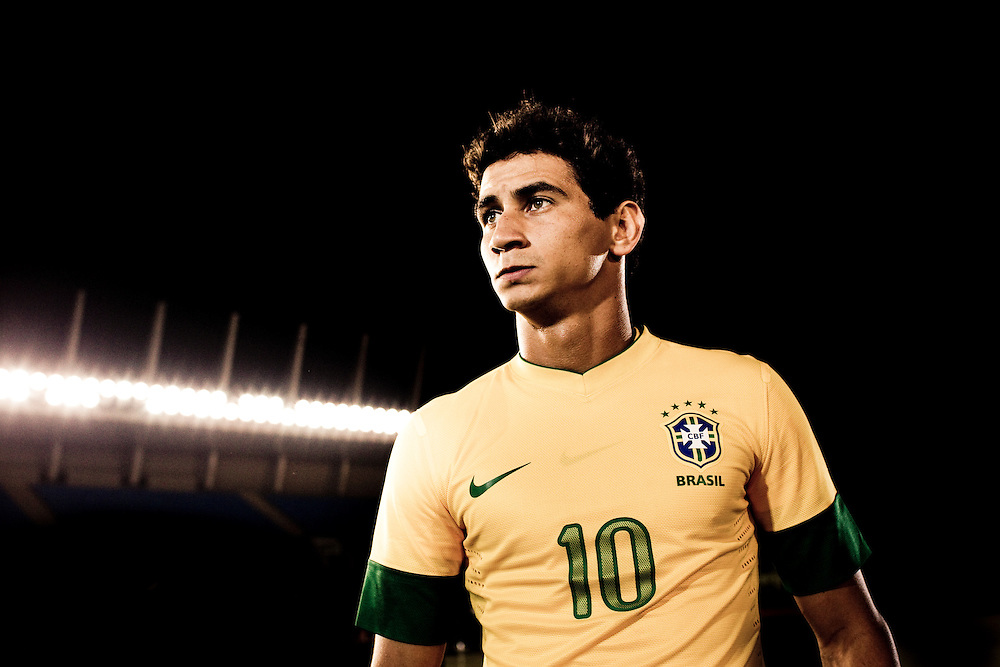 Sao Paulo, Brazil, Thursday - February 16, 2012: Paulo Henrique Ganso, Brazilian football team player, during a Nike advertisement filmmaking in Sao Paulo - Brazil. (photo: Caio Guatelli)