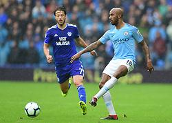 Fabian Delph of Manchester City - Mandatory by-line: Alex James/JMP - 22/09/2018 -  FOOTBALL - Cardiff City Stadium - Cardiff, Wales -  Cardiff City v Manchester City - Premier League