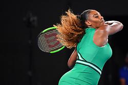 January 17, 2019 - Melbourne, AUSTRALIA - Serena Williams  (Credit Image: © Panoramic via ZUMA Press)