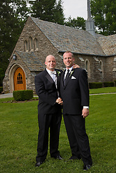 Wedding of Kristie Rogalinski and Trevor Jones in Duncan Memorial Chapel Saturday, May 21, 2011.