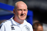 Football - 2019 / 2020 Sky Bet (EFL) Championship - Queens Park Rangers vs. Luton Town<br /> <br /> Queens Park Rangers manager Mark Warburton, at Kiyan Prince Foundation Stadium (Loftus Road).<br /> <br /> COLORSPORT/ASHLEY WESTERN