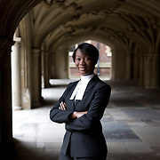 The University of Law graduate Gabrielle Turnquest, 18, is the youngest person in the history of the English and Welsh legal system to be called to The Bar after passing The University of Law's Bar Professional Training Course.
