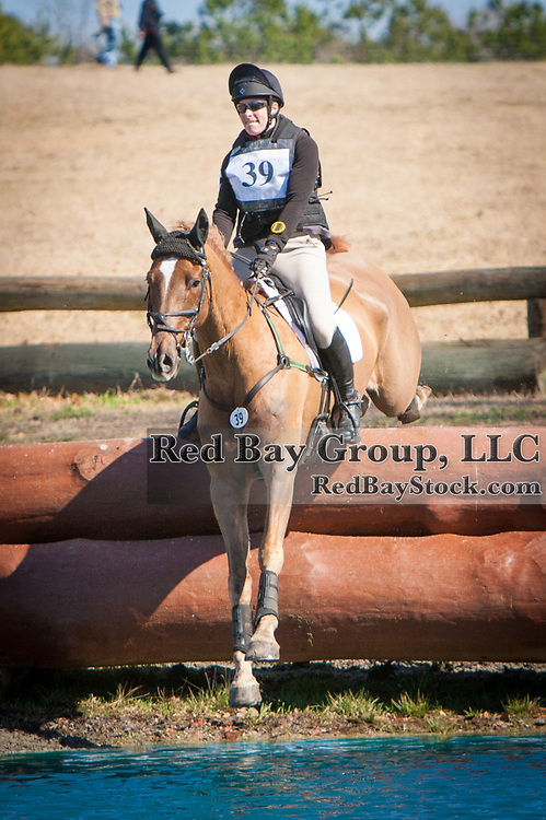Lisa Marie Fergusson and Honor Me at the 2014 Pine Top Farm Advanced Horse Trials in Thomson, Georgia.