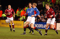 Fotball: Hearts v Rangers, Scottish Premier League, Tynecastle, Edinburgh.<br />