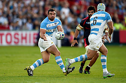 Agustin Creevy of Argentina - Mandatory byline: Patrick Khachfe/JMP - 07966 386802 - 25/09/2015 - RUGBY UNION - Kingsholm Stadium - Gloucester, England - Argentina v Georgia - Rugby World Cup 2015 Pool C.