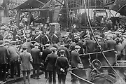Cardiff mine disaster [1913 Oct.] Photo shows the Sengenydd Colliery Disaster, Sengenydd, Wales. 439 men died in an explosion or from being trapped in the damaged shafts on 14 October 1913.