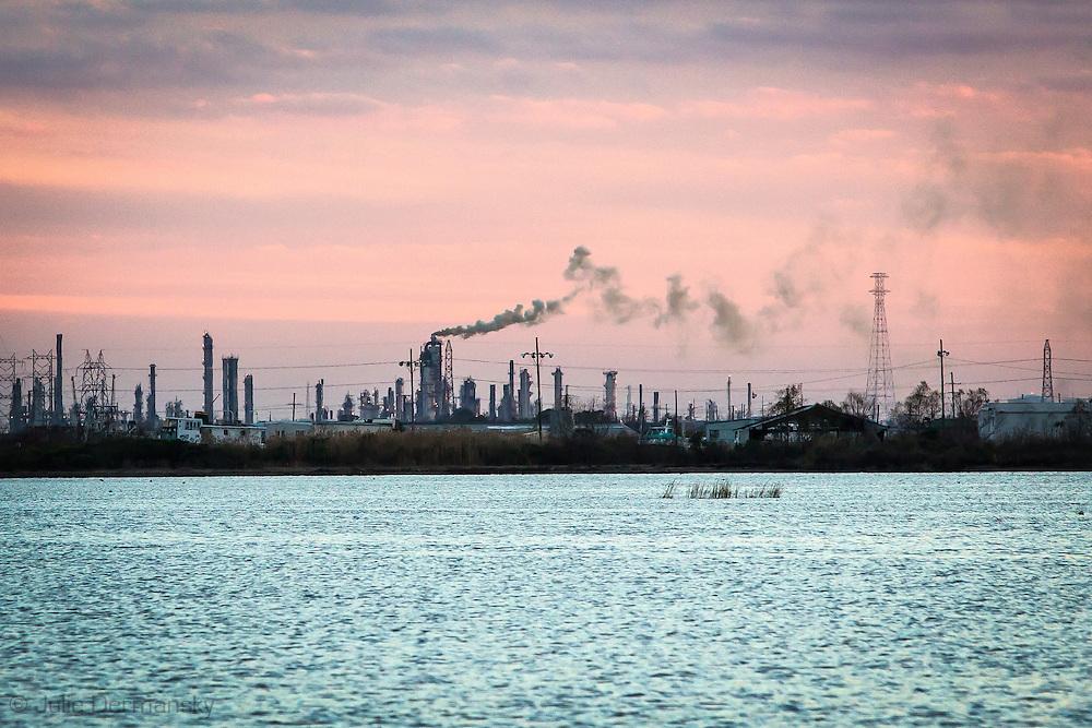 Exxon refinery in Chalmette Louisiana