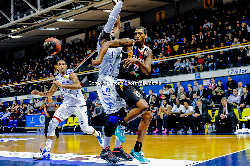 Kris Joseph - 23.01.2015 - Paris Levallois / Dijon - 18eme journee de Pro A<br /> Photo : Anthony Dibon / Icon Sport