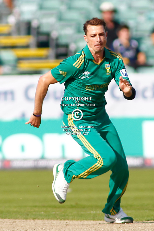 08/09/2012 Durham, England. Dale Steyn during the 1st Nat West t20 cricket match between  England and South Africa and played at Emirate Riverside Cricket Ground: Mandatory credit: Mitchell Gunn