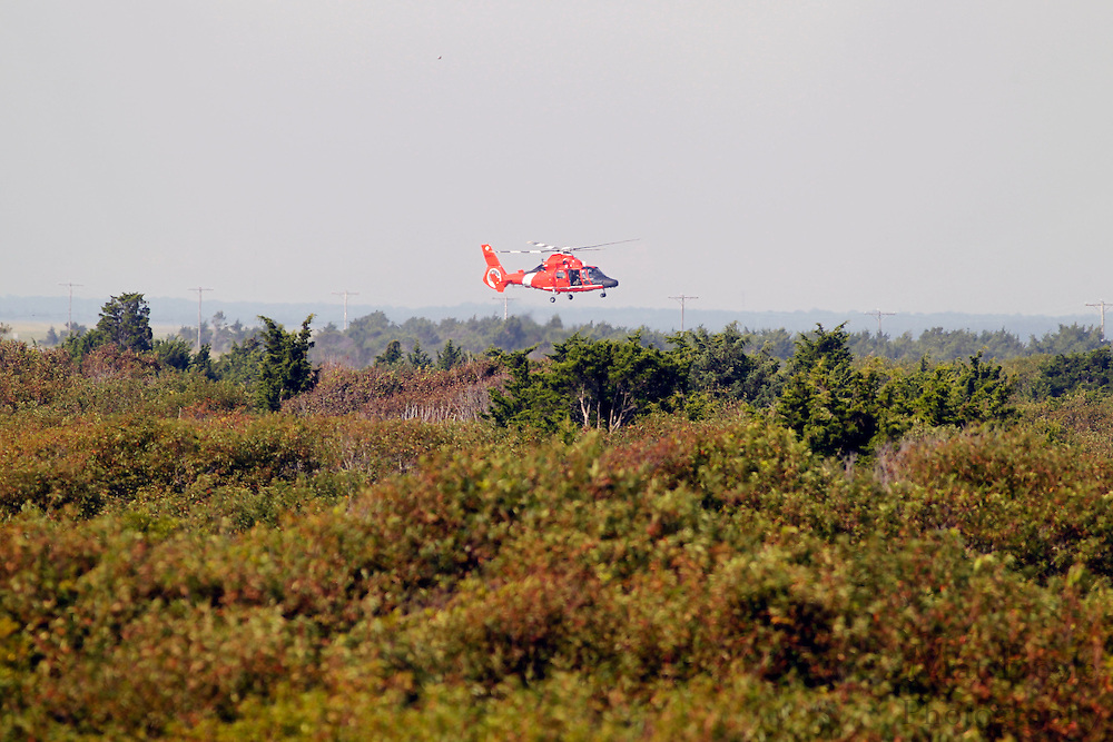 A suspected US Coast Guard Training Drill at Corson's Inlet in Ocean City, NJ on Wednesday August 22, 2012. (photo / Mat Boyle)
