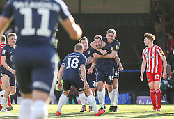John White of Southend United celebrates scoring to make it 1-0 - Mandatory by-line: Arron Gent/JMP - 04/05/2019 - FOOTBALL - Roots Hall - Southend-on-Sea, England - Southend United v Sunderland - Sky Bet League One
