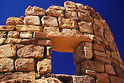 A window in the wall of the Watchtower, Grand Canyon National Park, Arizona..Subject photograph(s) are copyright Edward McCain. All rights are reserved except those specifically granted by Edward McCain in writing prior to publication...McCain Photography.211 S 4th Avenue.Tucson, AZ 85701-2103.(520) 623-1998.mobile: (520) 990-0999.fax: (520) 623-1190.http://www.mccainphoto.com.edward@mccainphoto.com.