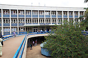 The front of Mulago Hospital in Uganda.<br /> <br /> Much is written about the number of babies born at Mulago National Referral Hospital – around 30,000 a year which averages between 80 and 85 every day. <br /> <br /> The pressure this puts on the hospital, which has bed capacity for fewer than half this number, is intensive. Yet much of this pressure could be eased if the capacity of smaller hospitals and health centres was developed.