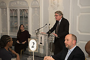 KERRY BROUGHER, The Academy Museum of Motion Pictures hosts a lunch and press briefing about the Museum's<br /> 2019 opening in Los Angeles. The Dorchester<br /> Park Lane,  London. 10 December 2018
