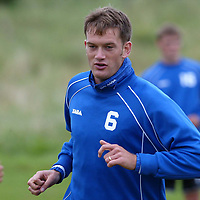 St Johnstone training...20.09.02<br />Ex- Ross County player Ian Maxwell looking forward to meeting his old team tommorrow<br /><br />Picture by Graeme Hart.<br />Copyright Perthshire Picture Agency<br />Tel: 01738 623350  Mobile: 07990 594431