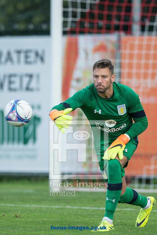 Mark Bunn of Aston Villa during the pre season friendly match at Sportcentre Weinzoedl, Graz, Austria.<br /> Picture by EXPA Pictures/Focus Images Ltd 07814482222<br /> 09/07/2016<br /> *** UK &amp; IRELAND ONLY ***<br /> EXPA-IES-160709-0028.jpg
