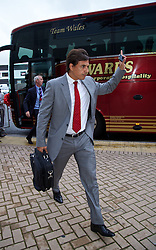 14.08.2013, Cardiff City Stadion, Cardiff, WAL, Testspiel, Wales vs Irland, im Bild Wales' manager Chris Coleman arrives for the International Friendly against Republic of Ireland at the Cardiff City Stadium during the international friendly match between Wales and Ireland at Cardiff City Stadium in Cardiff, Wales on 2013/08/14. EXPA Pictures © 2013, PhotoCredit: EXPA/ Propagandaphoto/ David Rawcliffe<br /> <br /> ***** ATTENTION - OUT OF ENG, GBR, UK *****