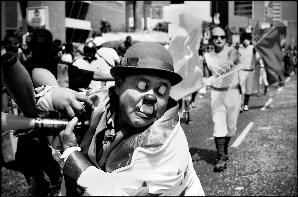 DAILY VENEZUELA / VENEZUELA COTIDIANA.Carnivals of Caracas / Carnavales de Caracas, Caracas - Venezuela 2005.(Copyright © Aaron Sosa)