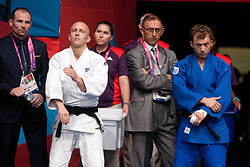 © London News Pictures. 27/08/2012. Ben Quilter -60kg competes for ParalympicsGB at the Excel Centre, London. Photo credit should read Manu Palomeque/LNP