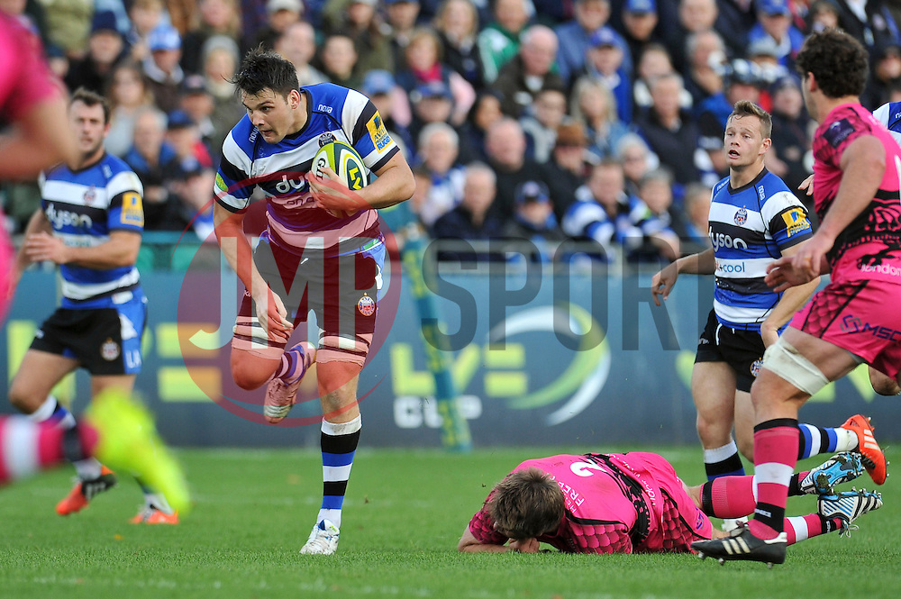 David Sisi of Bath Rugby - Photo mandatory by-line: Patrick Khachfe/JMP - Mobile: 07966 386802 01/11/2014 - SPORT - RUGBY UNION - Bath - The Recreation Ground - Bath Rugby v London Welsh - LV= Cup
