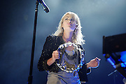 Metric performs at Terminal 5. June 17, 2009. New York City