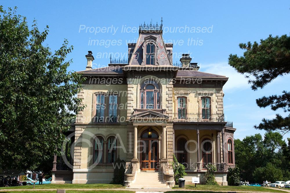 7 August 2010:  David Davis Mansion, Bloomington Illinois