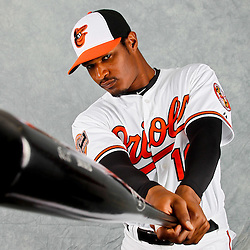 March 1, 2012; Sarasota, FL, USA; XXXX poses for a portrait during photo day at the spring training headquarters.  Mandatory Credit: Derick E. Hingle-US PRESSWIRE