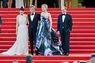 Cast &quot;Carol&quot; Cate Blanchett, Rooney Marra on the Red Carpet in the Festival Internationnal of the film from Cannes<br />  Cannes, May 17, 2015