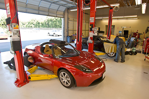 Tesla motors bay area