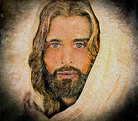 """A million faces of Jesus by Dino Carbetta - Spatola di metallo""...<br />