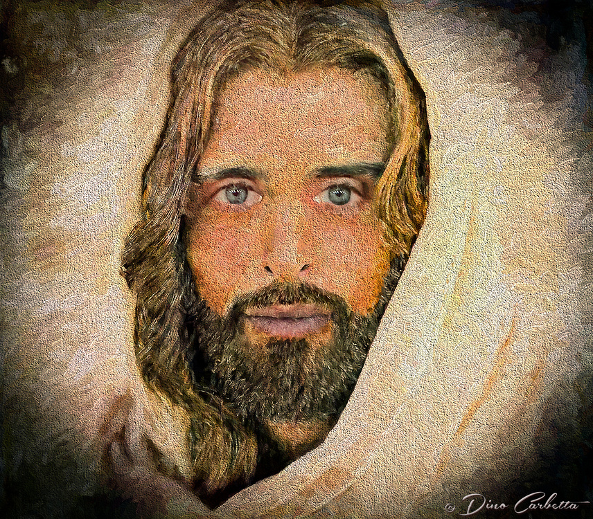 """""""A million faces of Jesus by Dino Carbetta - Spatola di metallo""""...<br /> <br /> Daniel 10: 5-6 """"As I looked up, I saw a man dressed in linen with a belt of fine gold around his waist. His body was like chrysolite, his face shone like lightning, his eyes were like fiery torches, his arms and feet looked like burnished bronze, and the sound of his voice was like the roar of a multitude."""" Genesis 1:27 """"God created mankind in his image; in the image of God he created them; male and female he created them."""" Since early childhood my fascination with the face of Christ resulted in a multitude of sketches, drawings, and photographs. Today, my mind's eye continues this perception in wonderment. I yearn to see, feel and touch this beatific vision.  Blessed with humble skills, this is my current vision after three years of introspection and change of the face of Christ. I know that in heaven the just will see God by direct intuition, clearly and distinctly. Scripture and theology tell us that the blessed see God face to face. And because this vision is immediate and direct, it is also exceedingly clear and distinct. The blessed see God, not merely according to the measure of His likeness imperfectly reflected in creation, but they see Him as He is, after the manner of His own Being. 1 Corinthians 13:12 """"At present, we are looking at a confused reflection in a mirror; then, we shall see face to face; now, I have only glimpses of knowledge; then, I shall recognize God as he has recognized me."""""""
