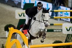 Hassmann Felix, GER, SL Brazonado<br /> Jumping Mechelen 2017<br /> © Sharon Vandeput<br /> 28/12/17