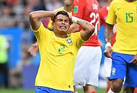 FUSSBALL WM 2018  Vorrunde Gruppe E  ---  Brasilien - Schweiz       17.06.2018 Thiago Silva (Brasilien)