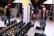 Christian Burns<br /> Raduno Nazionale Italiana Maschile Senior - Allenamento in Sala pesi<br /> FIP 2017<br /> Folgaria, 26/07/2017<br /> Foto M.Ceretti / Ciamillo-Castoria
