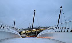 A general view of the Etihad Stadium - Mandatory by-line: Matt McNulty/JMP - 21/02/2017 - FOOTBALL - Etihad Stadium - Manchester, England - Manchester City v AS Monaco - UEFA Champions League - Round of 16 First Leg