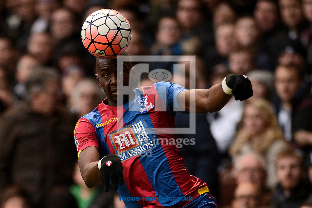 Yannick Bolasie of Crystal Palace during the FA Cup match between Tottenham Hotspur and Crystal Palace at White Hart Lane, London<br /> Picture by Richard Blaxall/Focus Images Ltd +44 7853 364624<br /> 21/02/2016