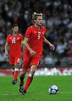 Photo: Tony Oudot/Richard Lane Photography.  England v Czech Republic. International match. 20/08/2008. <br /> Radoslav Kovac of Czech Republic .