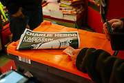 CHARLIE HEBDO WEEKLY SPECIAL ISSUE OF A YEAR AFTER ATTACKS<br /> ©Exclusivepix Media