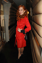 CHARLOTTE DELLAL at a party to celebrate the launch of the Kova & T fashion label and to re-launch the Harvey Nichols Fifth Floor Bar, held at harvey Nichols, Knightsbridge, London on 22nd November 2007.<br /><br />NON EXCLUSIVE - WORLD RIGHTS